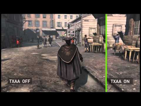 Assassin's Creed 3 Grafica PC con Schede NVIDIA Geforce GTX