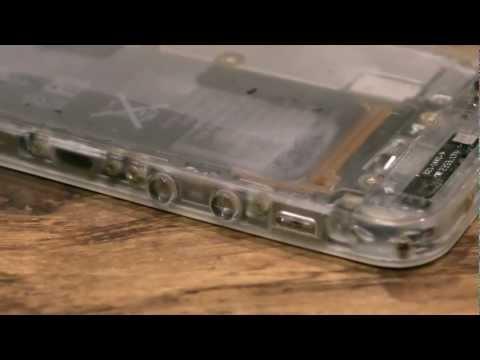 iPhone5mod: Un ricercato mod kit che rende traslucido il melafonino !