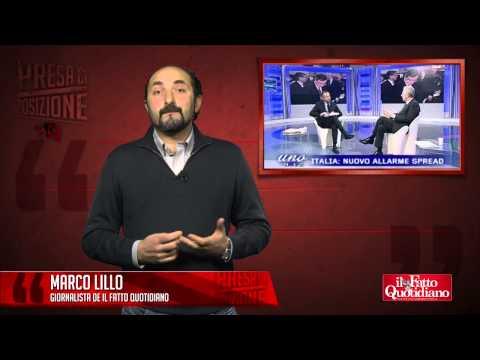Politici, il salotto comodo della tv. Presa di posizione con Marco Lillo (03/01/2013)