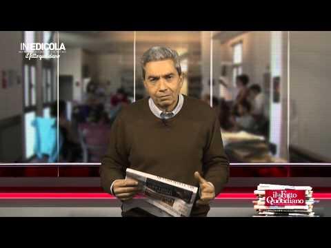 """In edicola sul Fatto del 23 gennaio: """"Lo scandalo Mps. Mussari si dimette dall'Abi"""""""