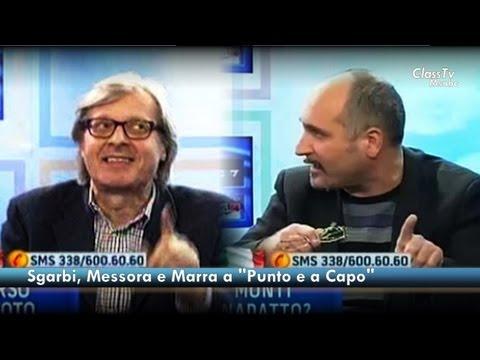 Vittorio Sgarbi, Claudio Messora e Alfonso Luigi Marra: le banche, Monti e l'Europa.