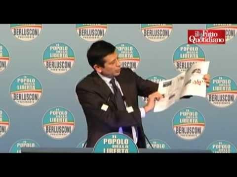 """Pdl, Lupi: """"Ecco il kit del parlamentare, dovete studiare"""" (25/01/2013)"""