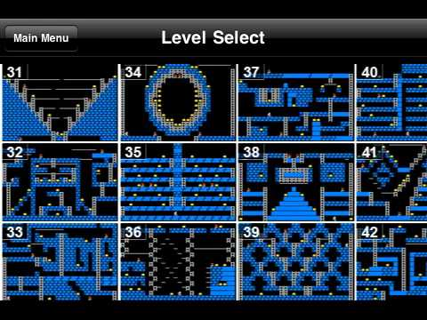 Lode Runner Classic: il platform di Broderbund, disponibile su iPhone all'ennesima potenza !