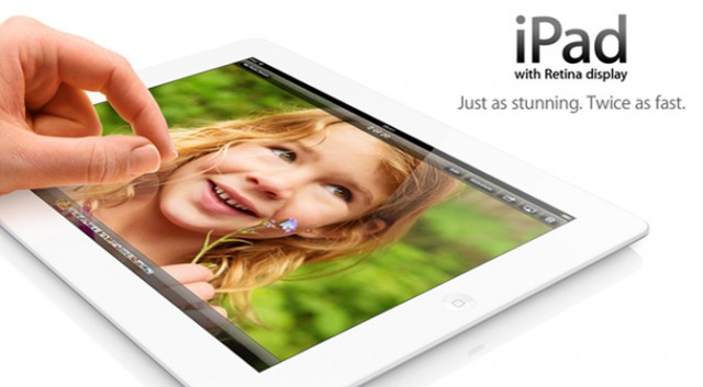 iPad 4, with Retina display