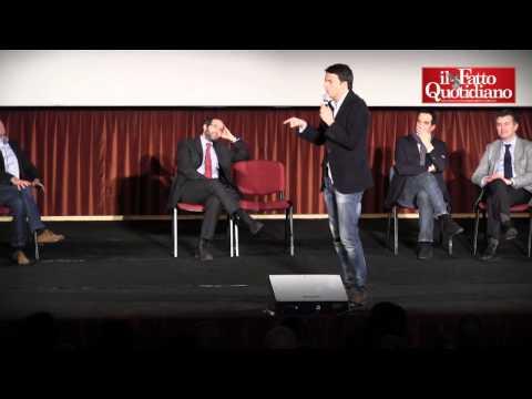 Renzi e Ambrosoli contro Grillo e la Lega