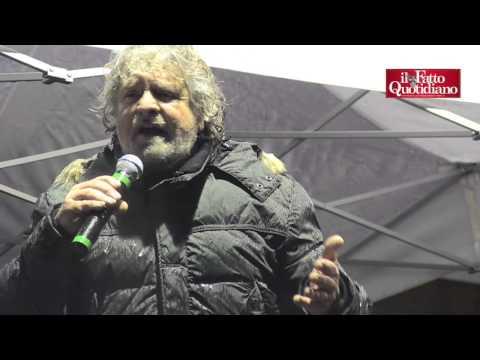 """Mps, Grillo contro Napolitano: """"Vuol mettere sotto silenzio questo sfascio"""""""