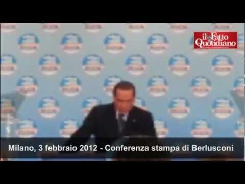 """Conferenza stampa di Berlusconi: """"Restituiremo l'Imu"""""""