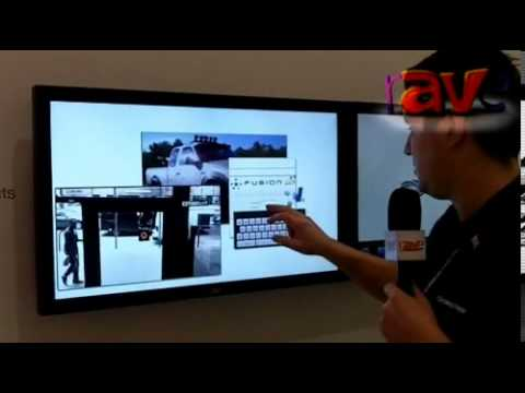 ISE 2013: Crestron UK Demos New Multi-Touch Offering