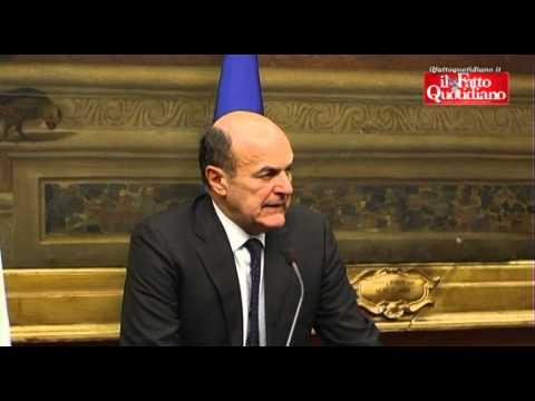 """Governo, Bersani: """"Ci sono difficoltà, si continua a lavorare"""" (26/03/2013)"""