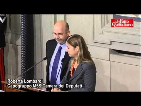 "M5S: ""No governi politici o pseudotecnici"" (29/03/2013)"