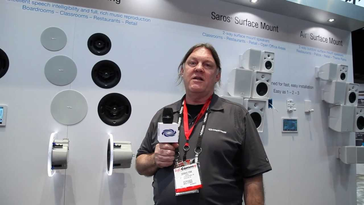 Crestron Speakers – InfoComm 2013