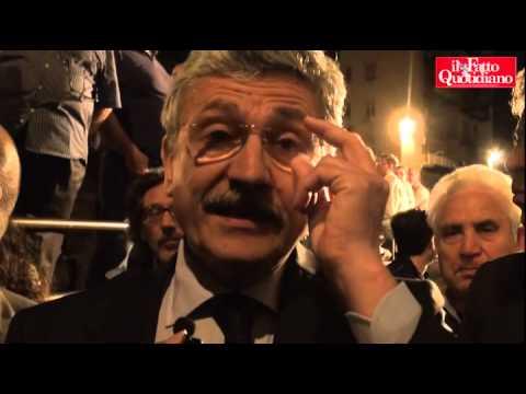 """D'alema: """"Presidenzialismo? Scegliere tra arbitro o giocatore. Grazie a Grillo c'è il governi"""