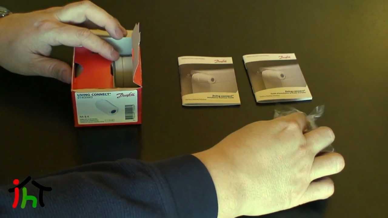 Installazione valvola termostatica Danfoss z-wave