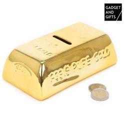 Hucha de Cerámica Lingote de Oro Gadget and Gifts
