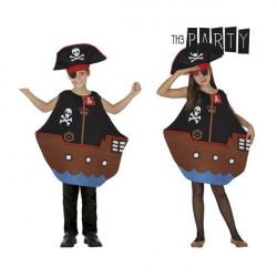 """Disfraz para Niños Th3 Party Barco pirata """"3-4 Años"""""""
