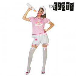 Costume for Adults Baby Pink XL