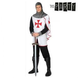 Verkleidung für Erwachsene Soldat templer XL