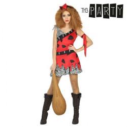 Disfraz para Adultos Mujer cavernícola XS/S