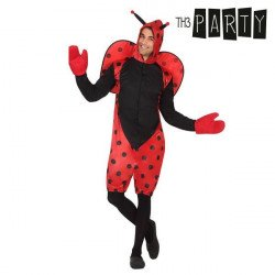 Costume for Adults Ladybird XL