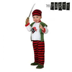 Disfraz para Bebés Pirata 0-6 Meses