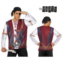 Camiseta para adultos 7659 Pirata hombre