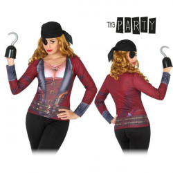 T-shirt pour adultes Th3 Party 8256 Femme pirate