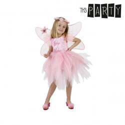 Costume per Bambini Th3 Party Fata Rosa 10-12 Anni