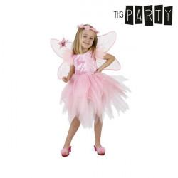 Costume per Bambini Th3 Party Fata Rosa 7-9 Anni