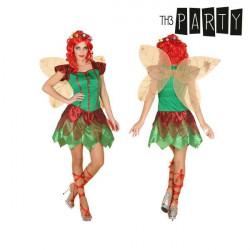 Costume per Adulti Fata Roșie M/L