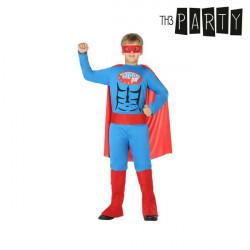 Costume per Bambini Supereroe 3-4 Anni