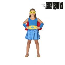 Costume per Bambini Supereroina 3-4 Anni