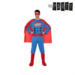 Verkleidung für Erwachsene Superheld XS/S