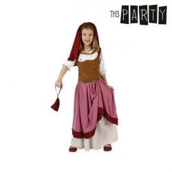Costume per Bambini Cameriera 5-6 Anni