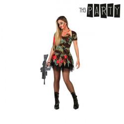 Verkleidung für Erwachsene Sexy zombie soldatin XS/S