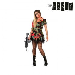 Disfraz para Adultos Militar zombie sexy M/L
