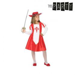Costume per Bambini Moschettiera 5-6 Anni
