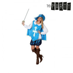 Costume per Adulti Th3 Party Moschettiera XL