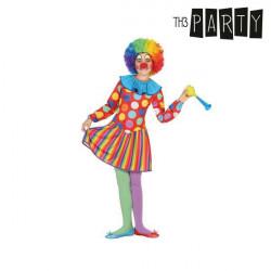 """Déguisement pour Enfants Femme clown """"5-6 Ans"""""""