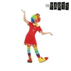 Costume per Bambini Pagliaccio donna 7-9 Anni