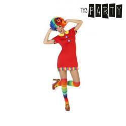 Verkleidung für Erwachsene Clownin XS/S