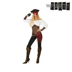 Verkleidung für Erwachsene Piratin XL