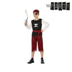 """Verkleidung für Kinder Pirat Rot """"7-9 Jahre"""""""