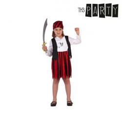 """Disfraz para Niños Pirata Rojo """"3-4 Años"""""""