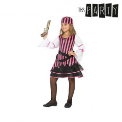 """Costume for Children Pirate Pink """"5-6 Years"""""""