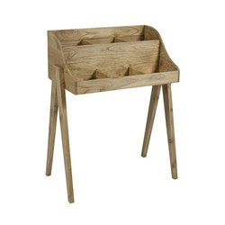 Table d'Appoint Bois mindi Playwood (80 x 45 x 102 cm)
