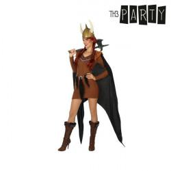 Déguisement pour Adultes Femme viking XL