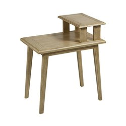 Side Table Mindi wood Plywood (60 x 40 x 70 cm)