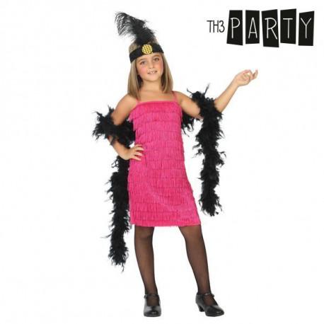 """Costume for Children Charleston Pink """"7-9 Years"""""""