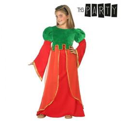 """Disfraz para Niños Dama medieval """"3-4 Años"""""""
