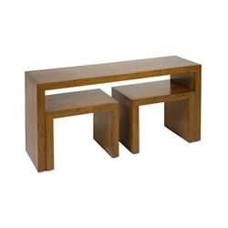 Consola Madera de mindi Playwood (3 pcs) Natural